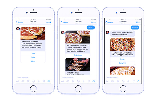 Pizza hut chatbot | foto 1