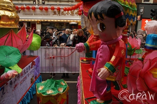 Chinees Nieuwjaar Londen (2017) ; Grand parade, Chinese New Year, London | foto 5