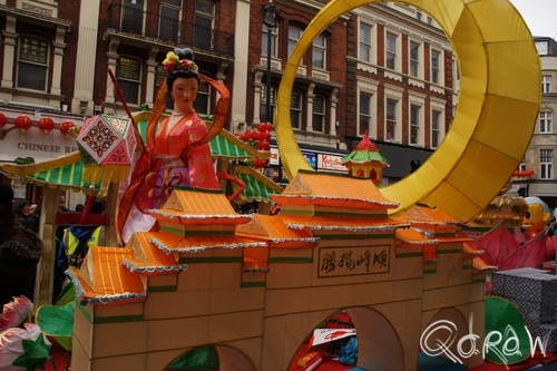 Chinees Nieuwjaar Londen (2017) ; Grand parade, Chinese New Year, London | foto 6