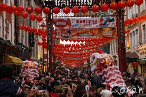 Chinees Nieuwjaar Londen (2017) ; Chinatown London, london, china, new year | foto 11