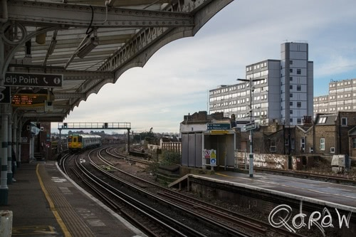 City of Westminster (2017) ; Battersea Park, Battersea Park Station, trein, rail | foto 2