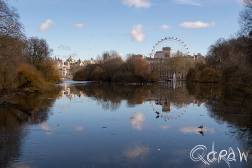 City of Westminster (2017) ; St. James's Park Lane, London Eye, water | foto 8