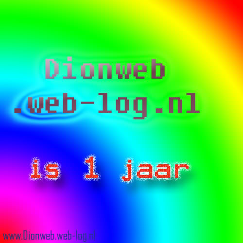 Dionweb is 1 Jaar