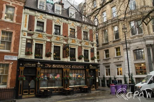 Harry Potter in Londen (2017) ; The Sherlock Holmes, Lounge bar, London | foto 1