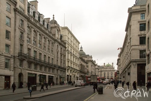 Harry Potter in Londen (2017) ; Regent Street, Saint James's, Piccadilly Circus Station, straat | foto 2