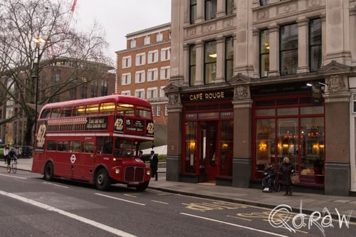 Harry Potter in Londen (2017) ; AEC Routemaster, line 15, London Buses route 15 (Heritage) | foto 6
