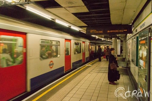 Harry Potter in Londen (2017) ; tube, metro, city, district line, underground | foto 8