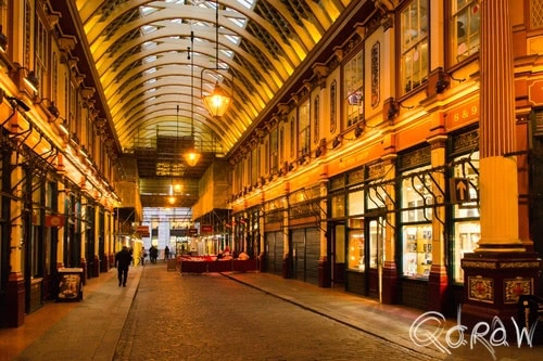 Harry Potter in Londen (2017) ; the pen shop, Gracechurch Street, Victorian Market, Diagon Alley, Wegisweg, Weg-is-weg | foto 9
