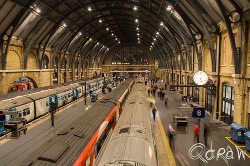 Harry Potter in Londen (2017) ; Platform 9¾, King's Cross, Perron negen en driekwart, Londen, Virgin | foto 12