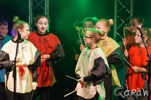 Kerst in Oud Kampen (2016) ; China girls, Oud kampen, china | foto 3