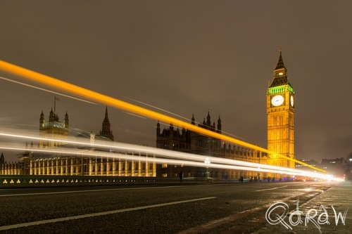 London by Night (2017) ; Palace of Westminster, Big Ben, London, Westminster Bridge | foto 1