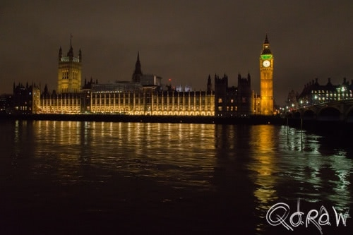 London by Night (2017) ; Palace of Westminster, Big Ben, London, Westminster Bridge | foto 2