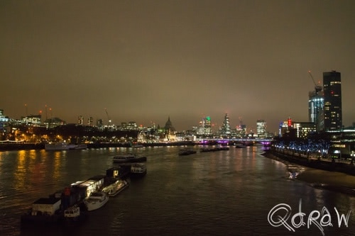 London by Night (2017) ; Festival Pier, Waterloo Bridge, London, Golden Jubilee Bridge | foto 5