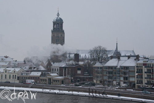 Sneeuwlandschap Twello en Deventer