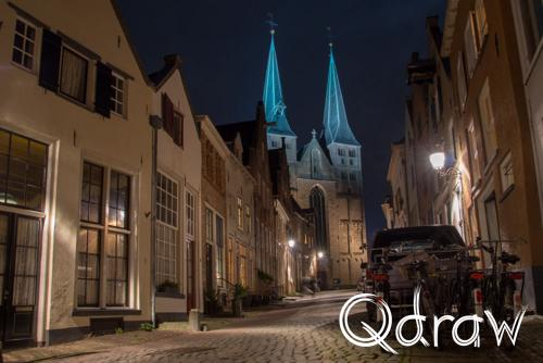 Avondfotografie Photowalk Deventer (2020) Bergkerk